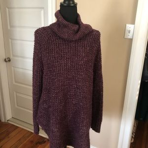 Free people cowl neck sweater, XS